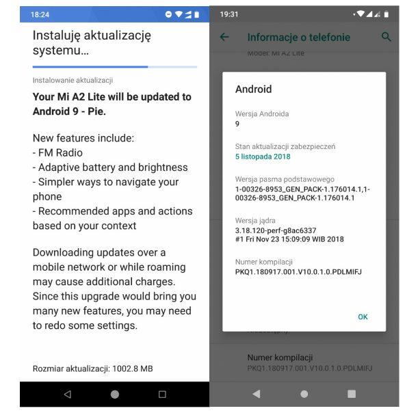 Nokia 7.1 ve Xiaomi Mi A2 Lite Android Pie Güncellemesi Alacak!
