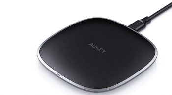 Aukey Graphite 10W Fast Wireless Charger