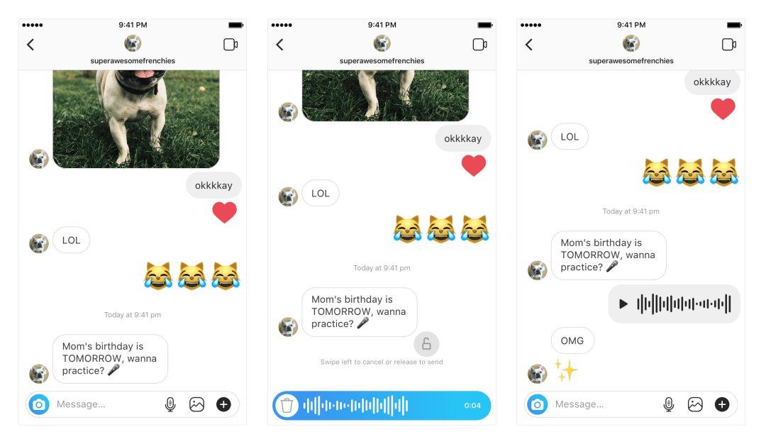 Instagram Sesli Mesajlaşma Devri Artık Başladı!