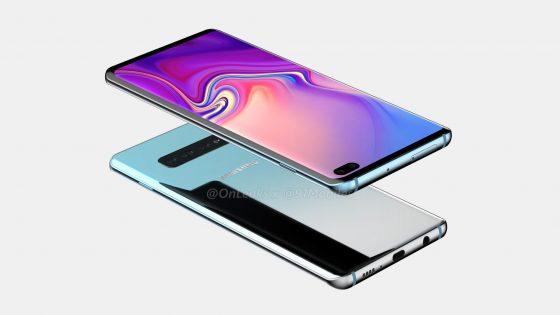 Galaxy S10 Plus - Yeni Teknik Çizimleri Sızdırıldı!