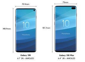 Galaxy S10 ve S10 Plus Hakkında Herşey!