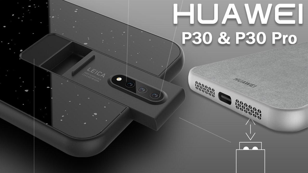 Huawei P30 Pro - Ekran Koruma Kılıfı Sızdırıldı!