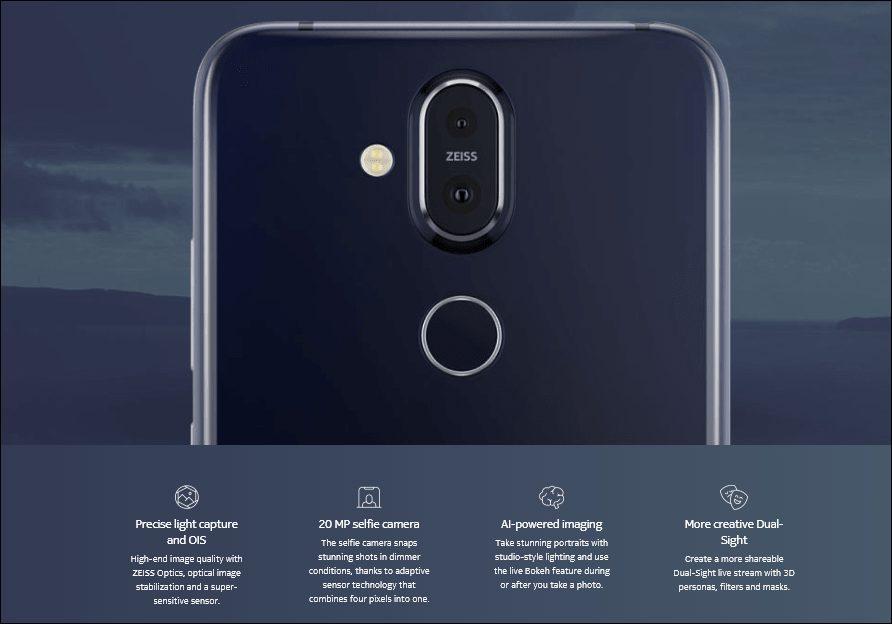Nokia 8.1Tanıtıldı! İşte Özellikleri ve Fiyatı