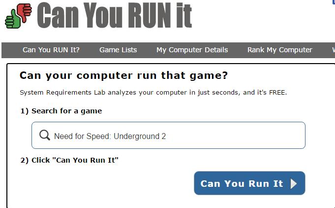 Bilgisayarım Hangi Oyunları Kaldırır