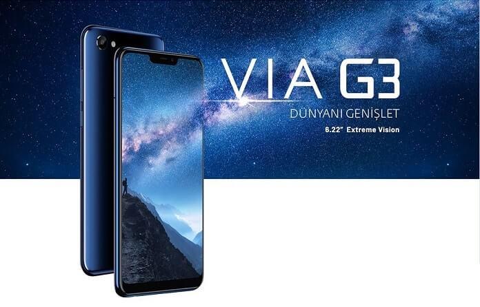 Casper VIA G3 siyah