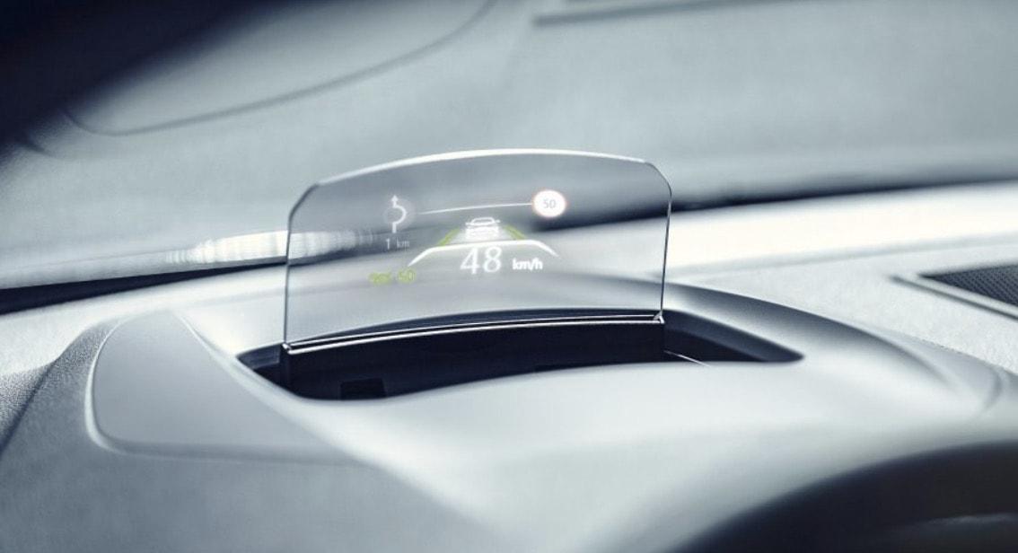 Renault MEGANE Sedan renkli Head Up Display