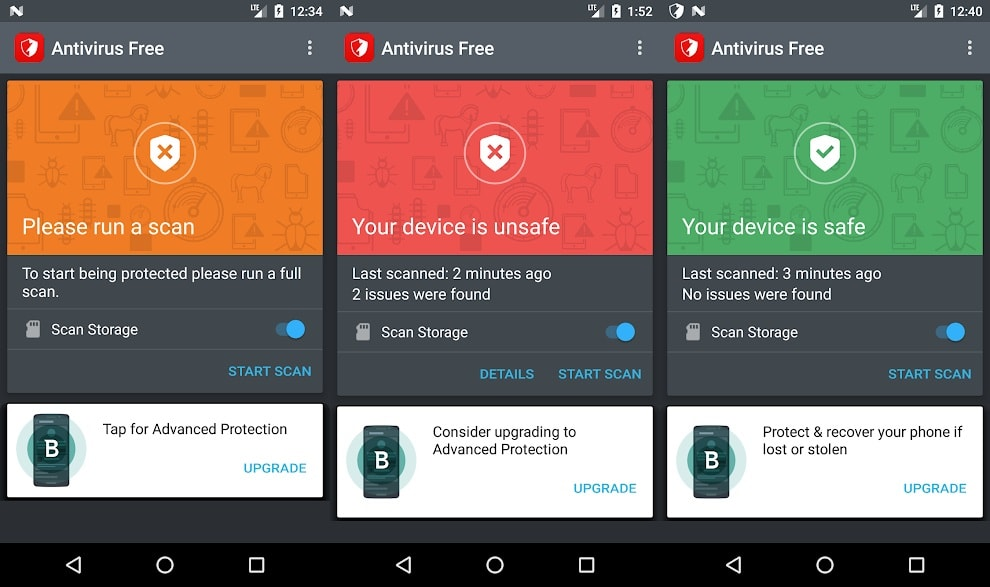 Android İçin En İyi Antivirüs ve Güvenlik Programları 2019