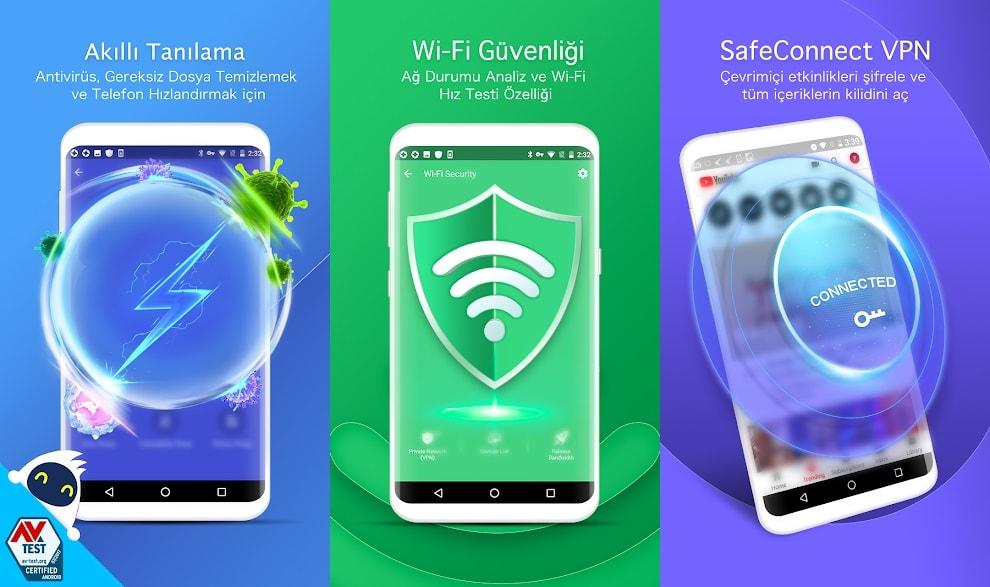 Android telefona antivirüs tavsiyesi