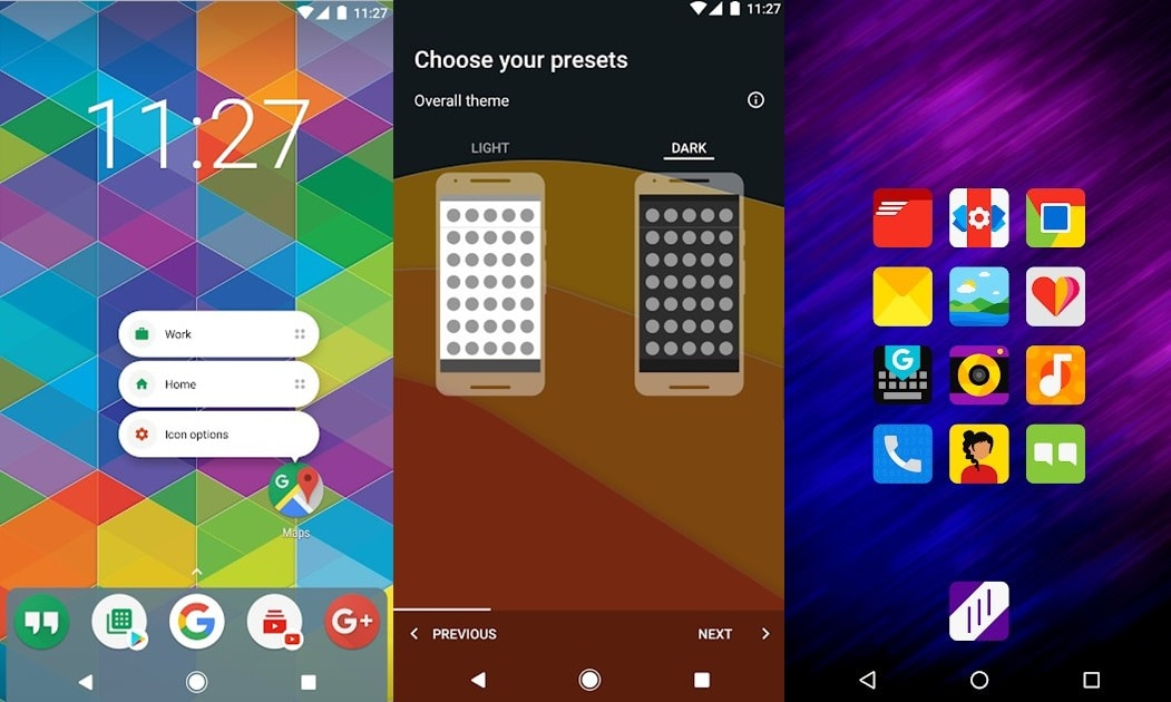 En İyi 10 Android Başlatıcı Launcher 2019