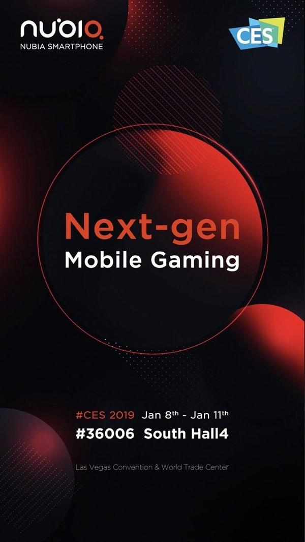Nubia, Ces 2019'da Yeni Akıllı Oyun Telefonunu Duyuracak!