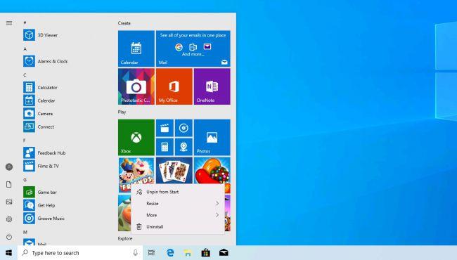 Windows 10 - Nisan 2019 Güncellemesi, Özellikleri ve Yenilikleri