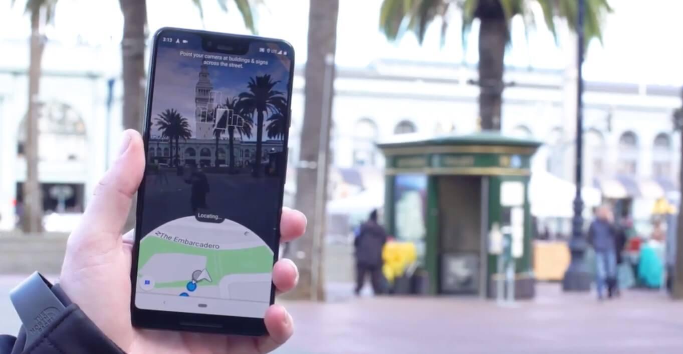Google Haritalar için Google'dan Dev Adım - AR Desteği