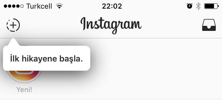 Instagram'da Hikaye Paylasma