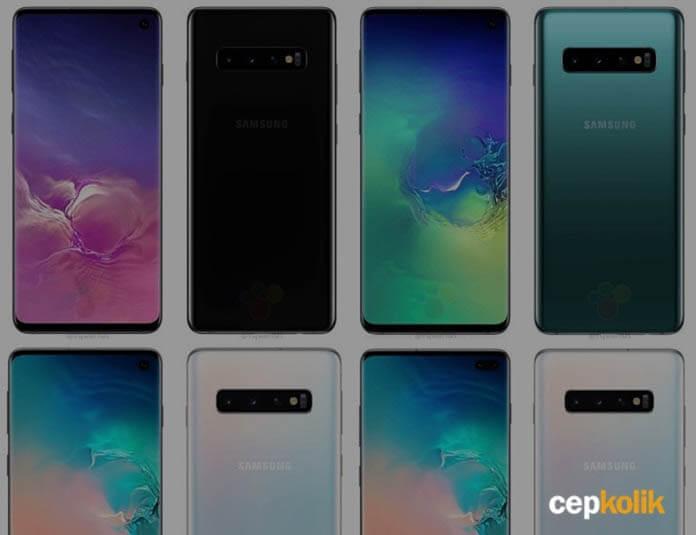 Galaxy S10 ve S10 Plus Renk Seçenekleri Yayınlandı!