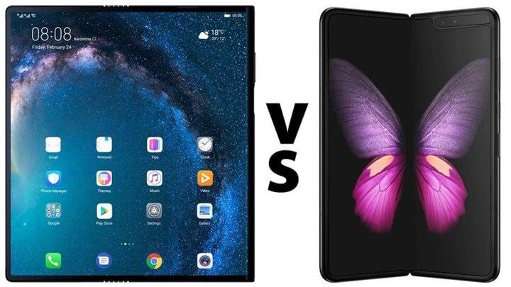 Huawei Mate X ve Galaxy Fold Karşılaştırması