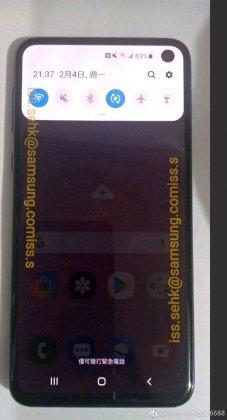 Samsung Galaxy S10e Özellikleri Sızdırıldı!