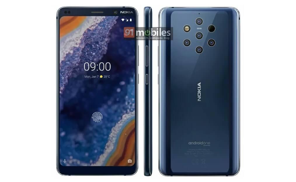 Nokia 9 PureView Yeni Teknik Çizimi Yayınlandı!