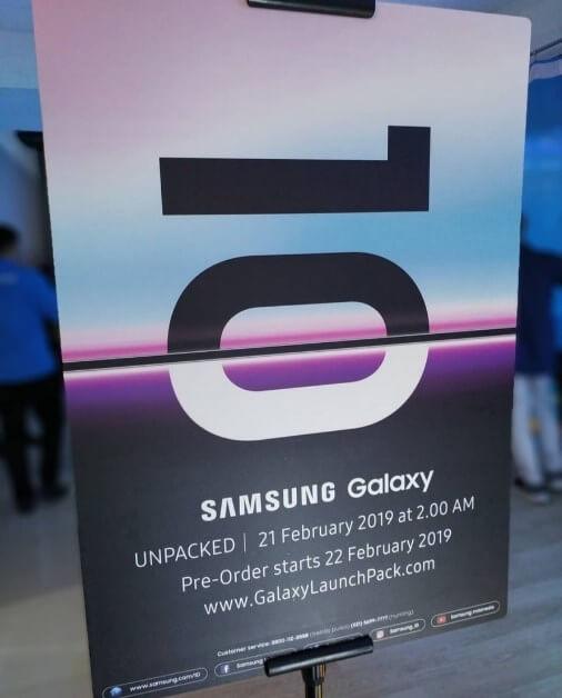 Samsung Galaxy S10 - Ön Sipariş Tarih Belli Oldu!