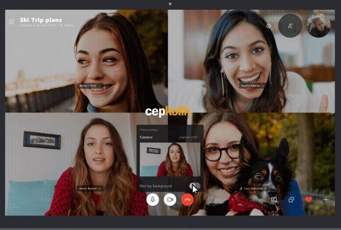 Skype Video Görüşmelerinde Arka Planı Bulanık Yapacak!
