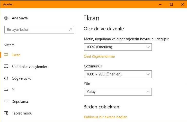 Windows'ta Yazı Boyutu Nasıl Değiştirilir?