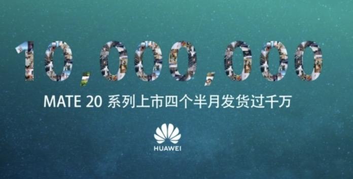 Huawei Mate 20 Satış Rakamını Açıkladı!