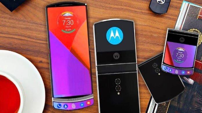 Motorola Razr katlanabilir akilli telefon