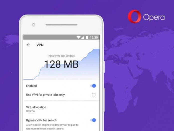 Android Opera Tarayıcısında Ücretsiz VPN Devri Başladı!