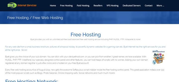 En İyi Ücretsiz Hosting Siteleri 2019