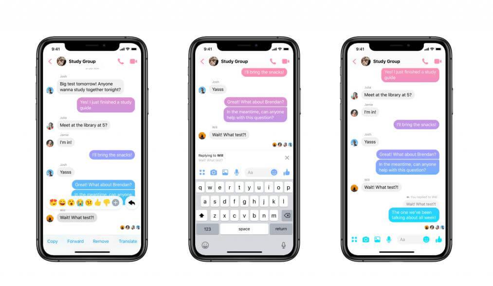 Facebook, Messenger'a Alıntılama Özelliğini Getiriyor!