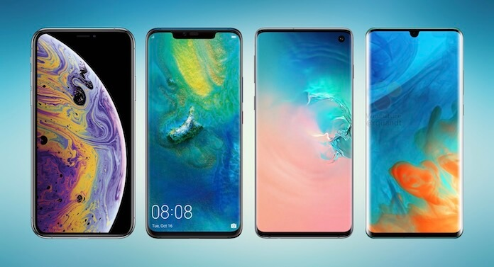 iPhone XS vs Mate 20 Pro vs Galaxy S10 vs P30 Pro