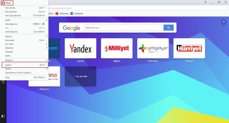 Opera VPN Nasıl Kullanılır?