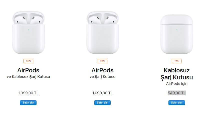 yeni airpods