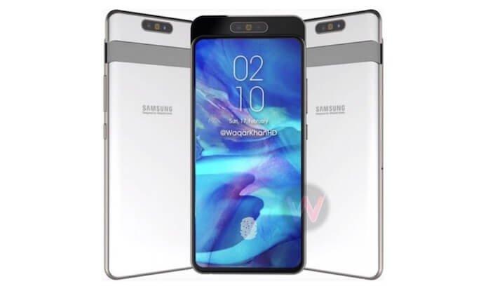 Samsung Galaxy A80, 10 Nisan'da Geliyor