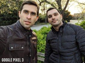 Google Pixel 3 Selfie Karşılaştırması - Grup