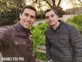 Huawei P30 Pro Selfie Karşılaştırması - Grup