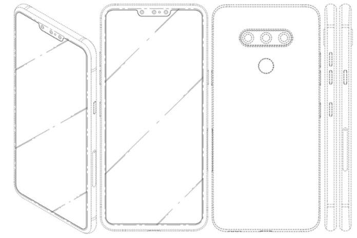 LG Üçlü Selfie Kamerası Patenti