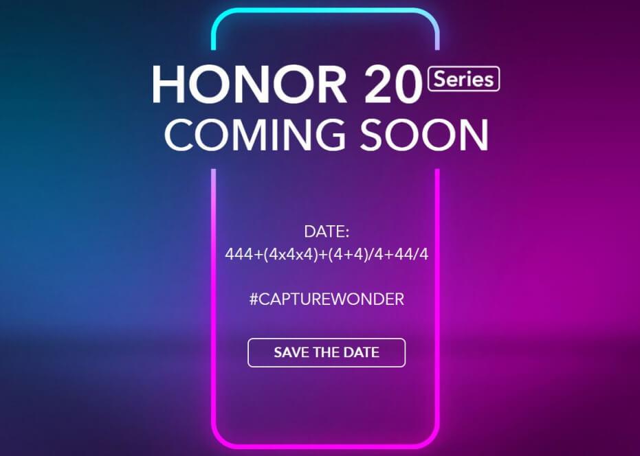 Honor 20 Serisi 21 Mayıs'ta Tanıtılacak!