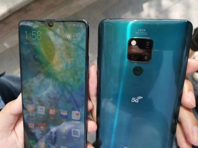 Huawei Mate 20X 5G Görüntülendi