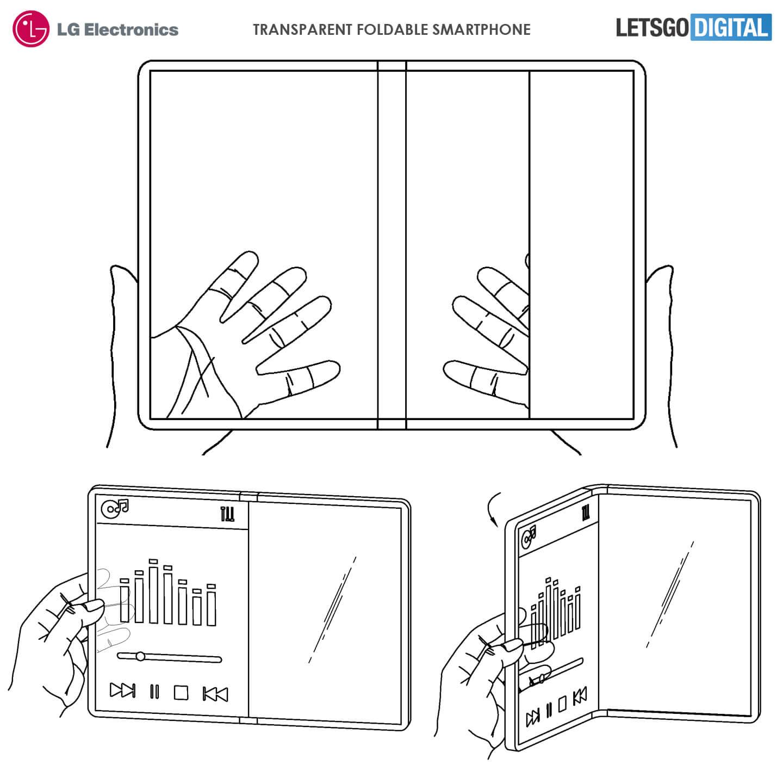 LG Şeffaf Ekranlı Katlanabilir Telefon Üzerinde Çalışıyor!