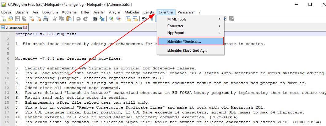 Notepad++ Dosya Karşılaştırması Nasıl Yapılır?
