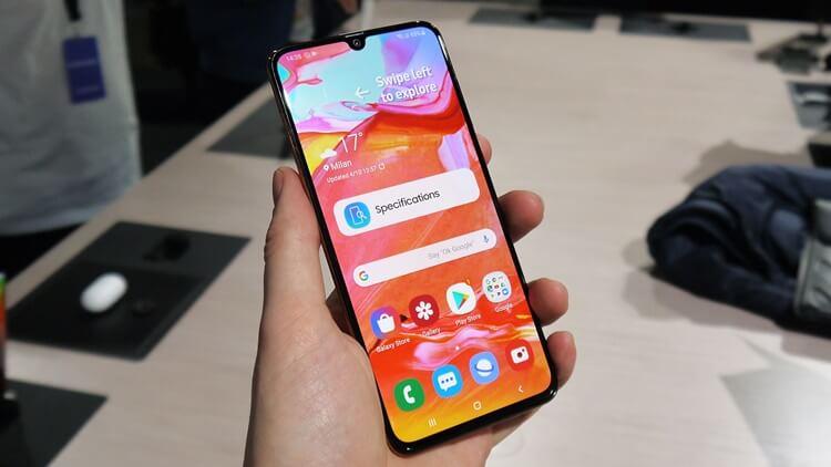 Samsung Galaxy A70 Ön İnceleme