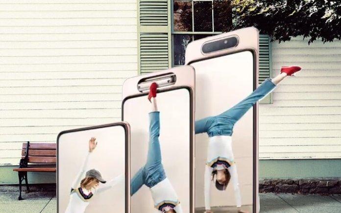 Samsung Galaxy A80 Tanıtım Videoları Yayınlandı!