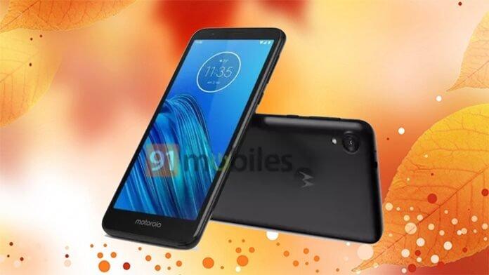 Giriş Seviyesi Moto E6 Telefonunun Özellikleri Sızdırıldı!