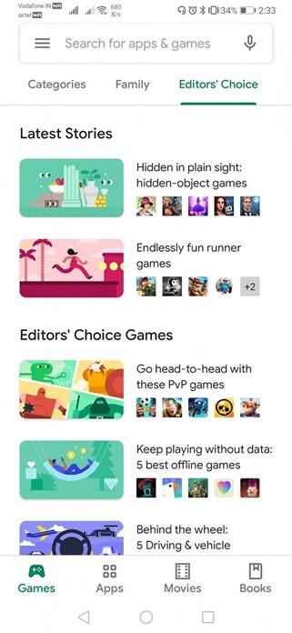 Google Play Store Değişiyor! Yeni Tema Nasıl Olacak?
