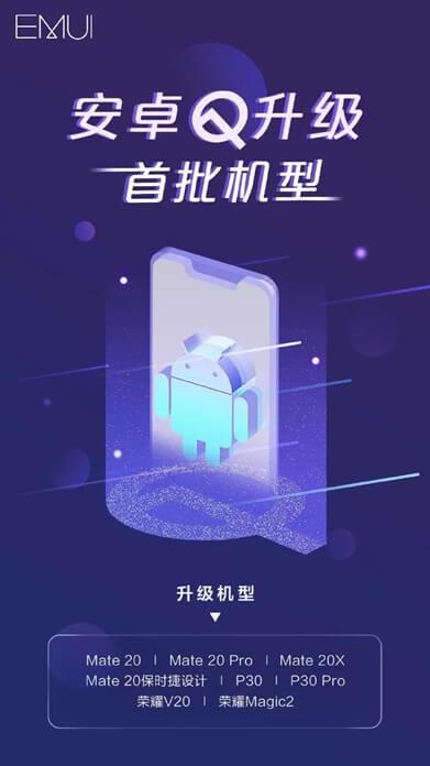Huawei Android Q Desteği Alacak Telefonlar Açıklandı!