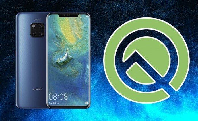Huawei Mate 20 Pro, Android Q Listesinden Kaldırıldı