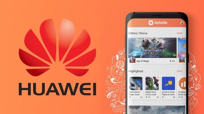 Huawei, Play Store Yerine Aptoide Mağazasını Kullanacak!