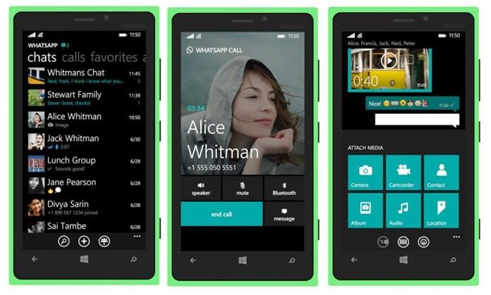 WhatsApp, Windows Telefonlardan Desteğini Çekiyor!