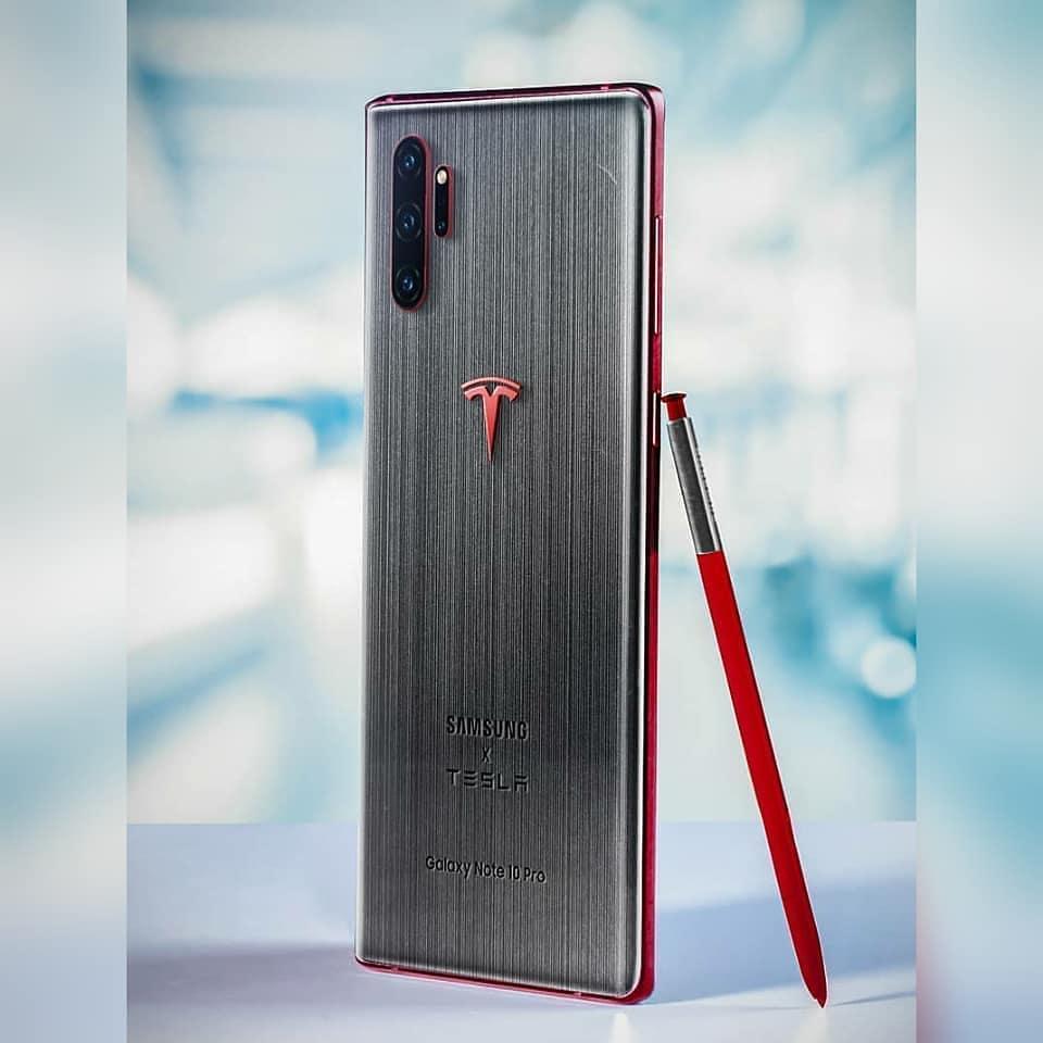 Galaxy Note 10 Tesla Edition