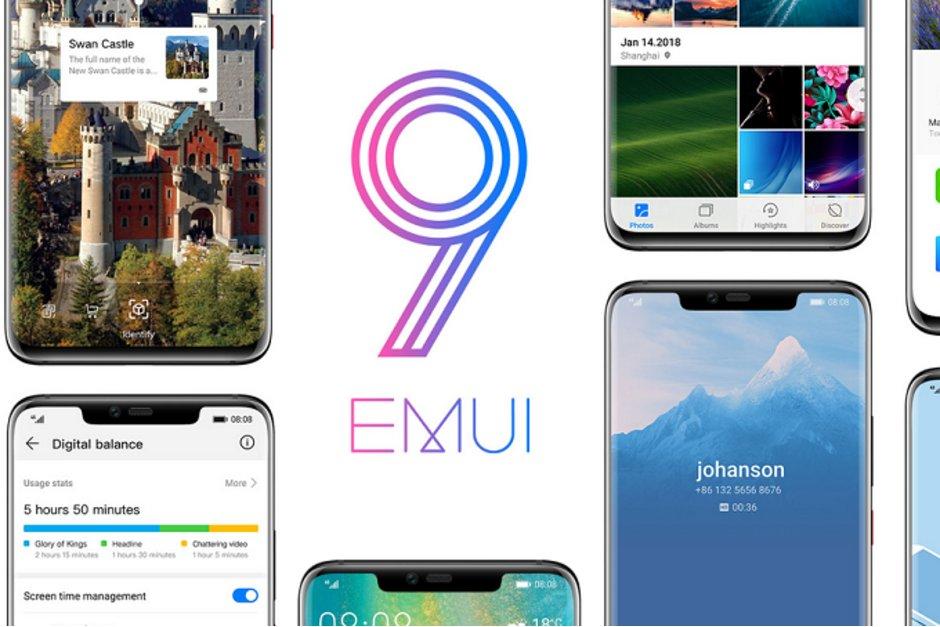 Huawei Mate 20 lite EMUI 9